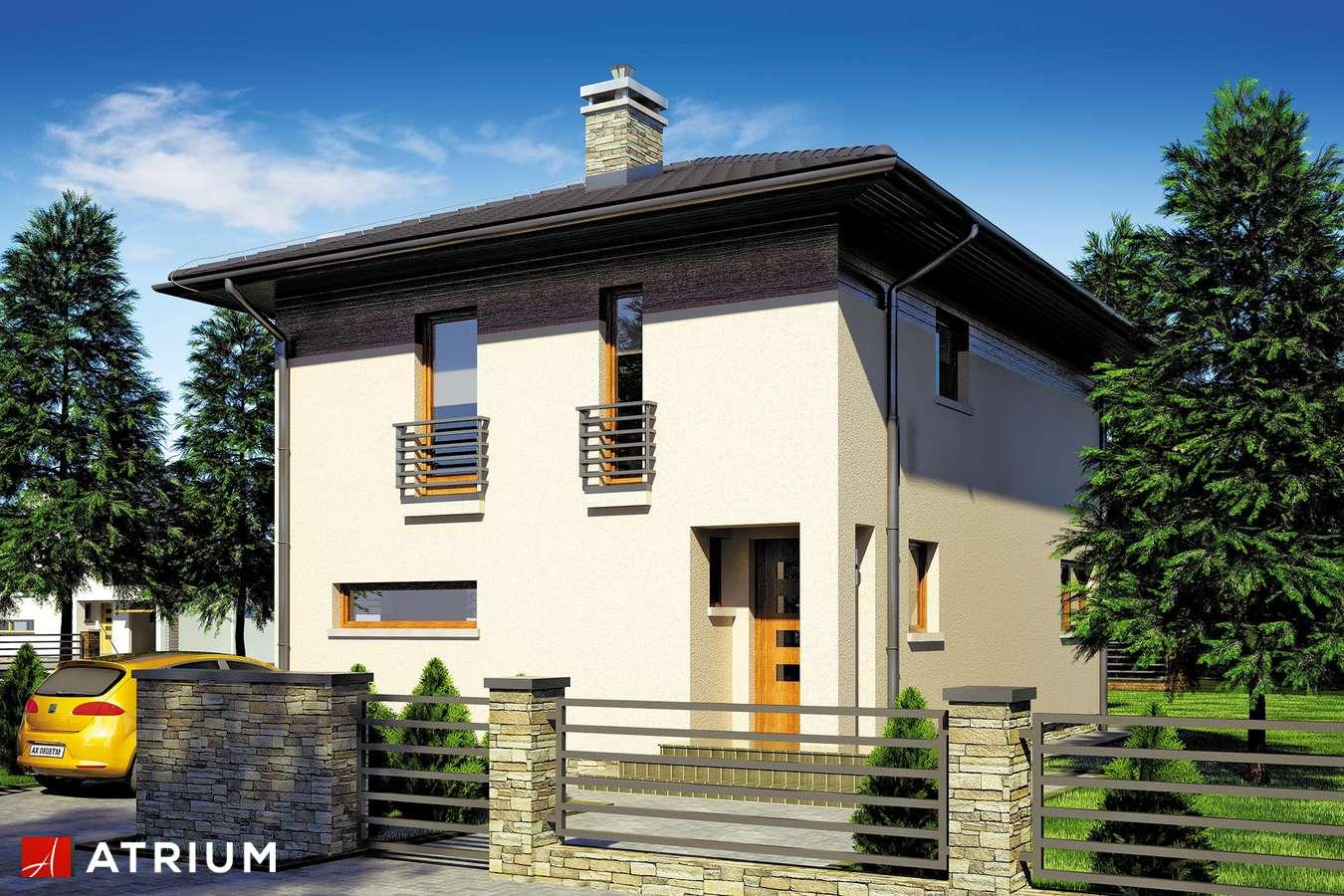 Projekty domów - Projekt domu piętrowego MILANO III - wizualizacja 2