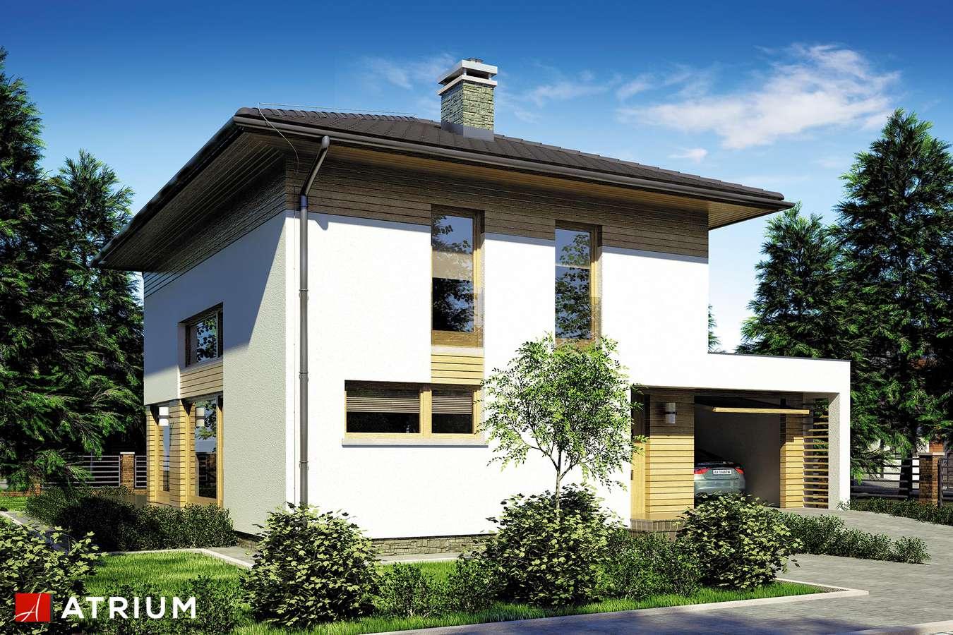 Projekty domów - Projekt domu piętrowego MILANO II - wizualizacja 1