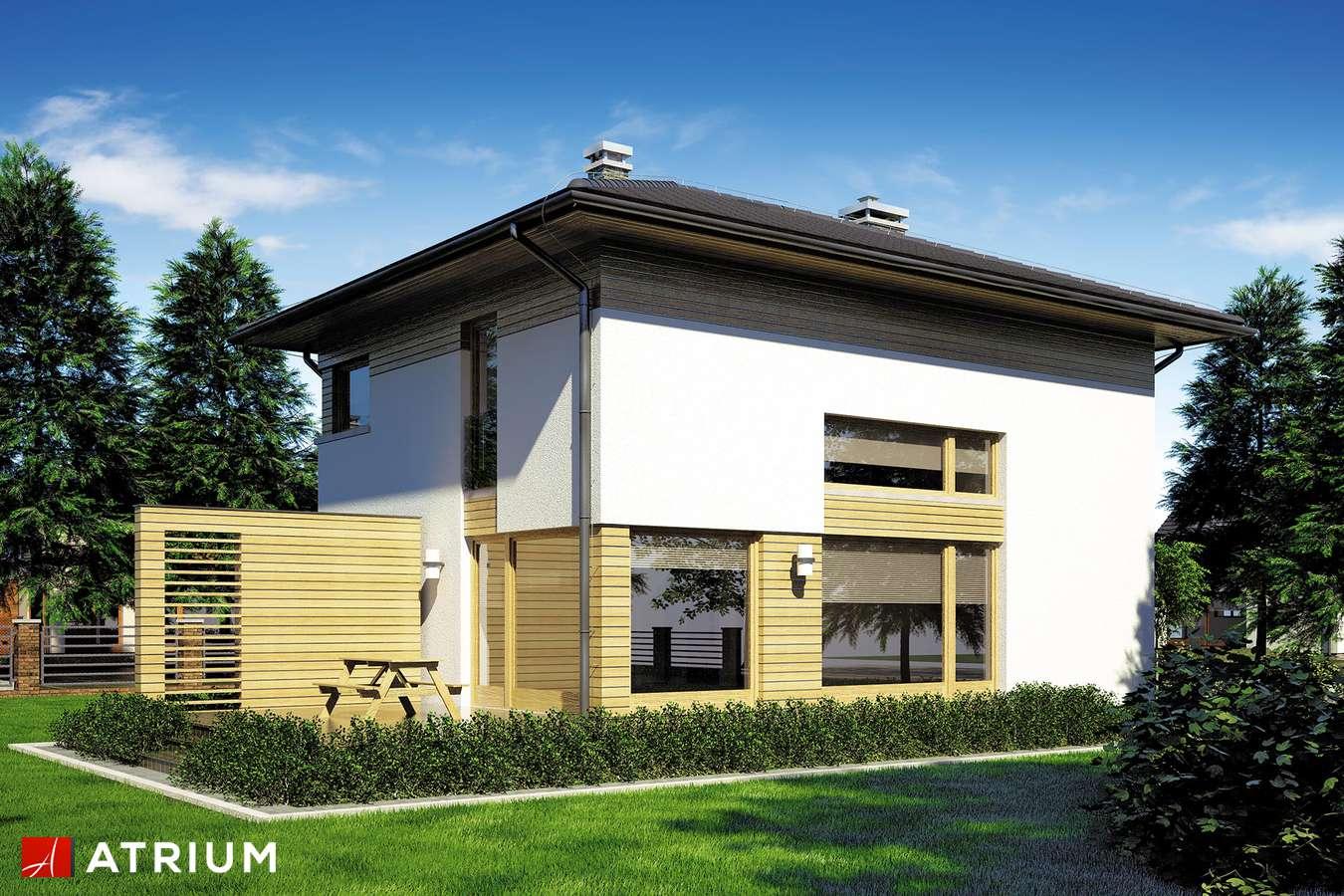 Projekty domów - Projekt domu piętrowego MILANO II - wizualizacja 2