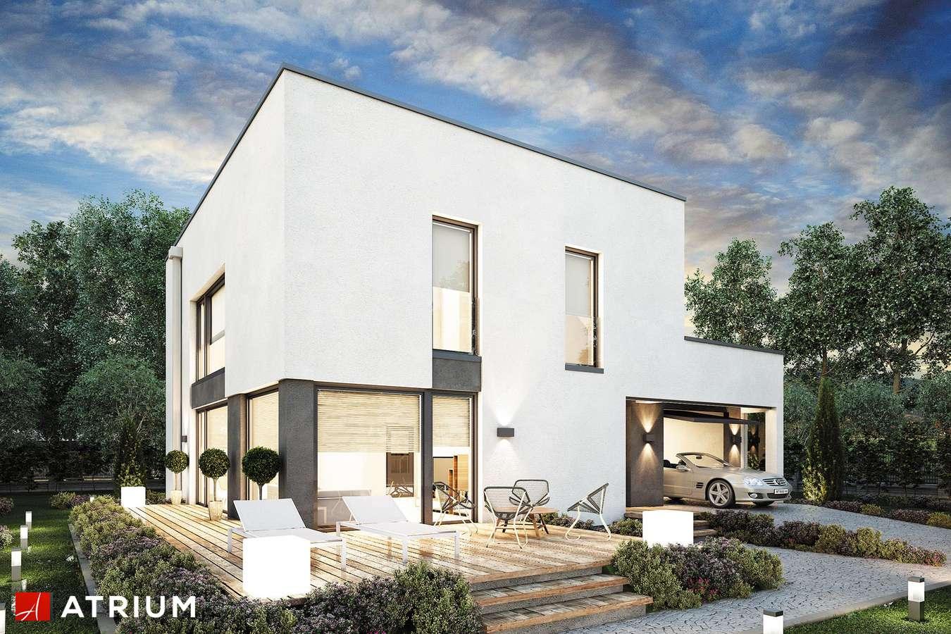 Projekty domów - Projekt domu piętrowego DOMUS III - wizualizacja 1