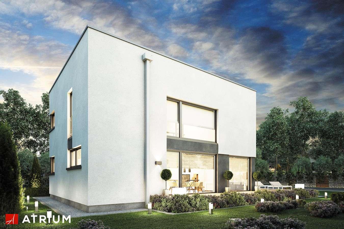 Projekty domów - Projekt domu piętrowego DOMUS III - wizualizacja 2