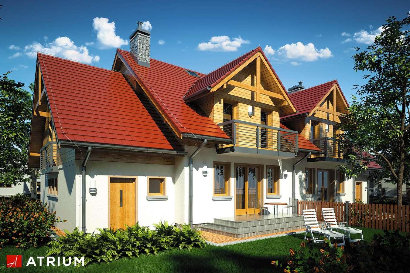 Projekty domów - Projekt domu z poddaszem FOKSTROT DUO II - wizualizacja 2