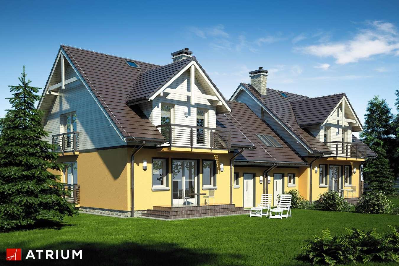 Projekty domów - Projekt domu z poddaszem FOKSTROT DUO - wizualizacja 2
