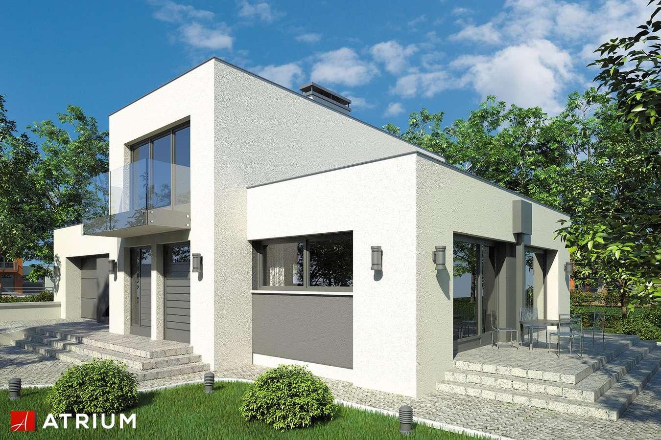 Projekty domów - Projekt domu piętrowego VIPER - wizualizacja 1
