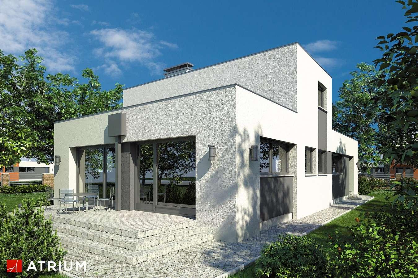 Projekty domów - Projekt domu piętrowego VIPER - wizualizacja 2
