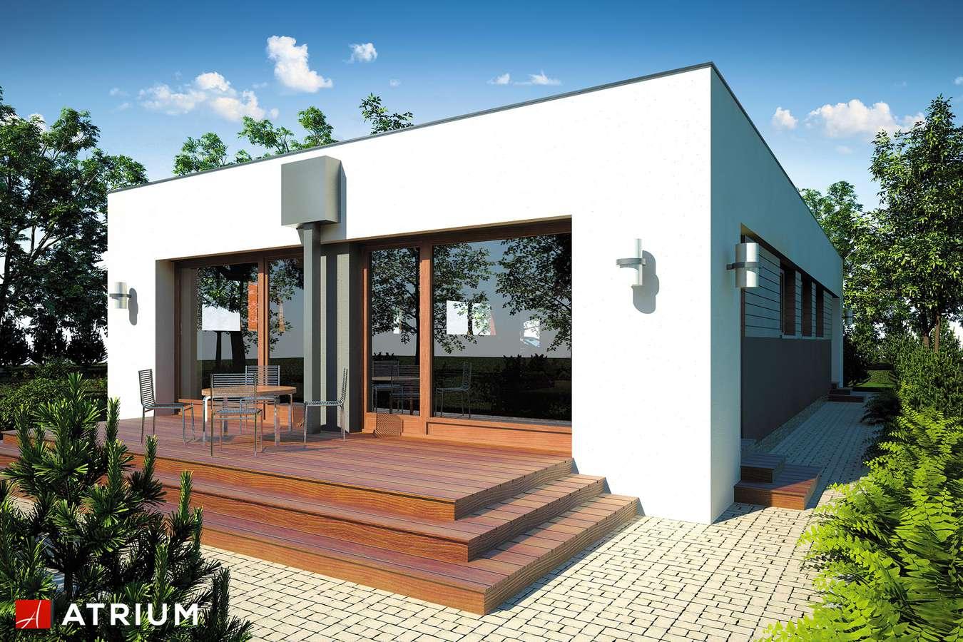 Projekty domów - Projekt domu parterowego VIVA - wizualizacja 2
