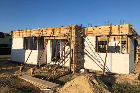 Projekt domu Ricardo w budowie