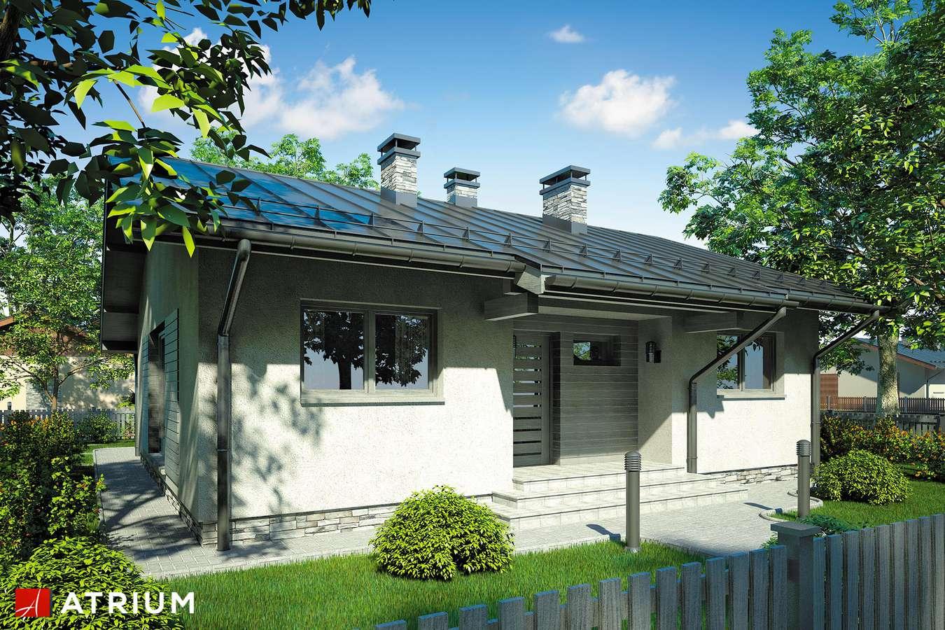 Projekty domów - Projekt domu parterowego NEO - wizualizacja 2