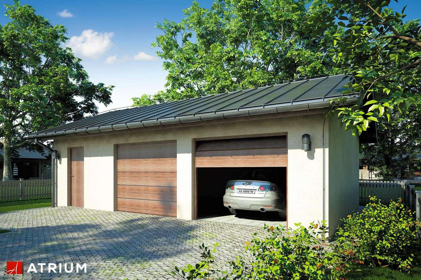 Garaż Z 39 - wizualizacja 1