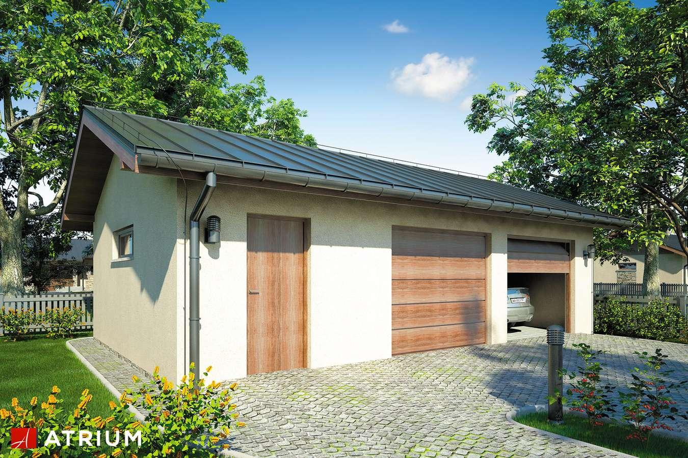 Garaż Z 39 - wizualizacja 2