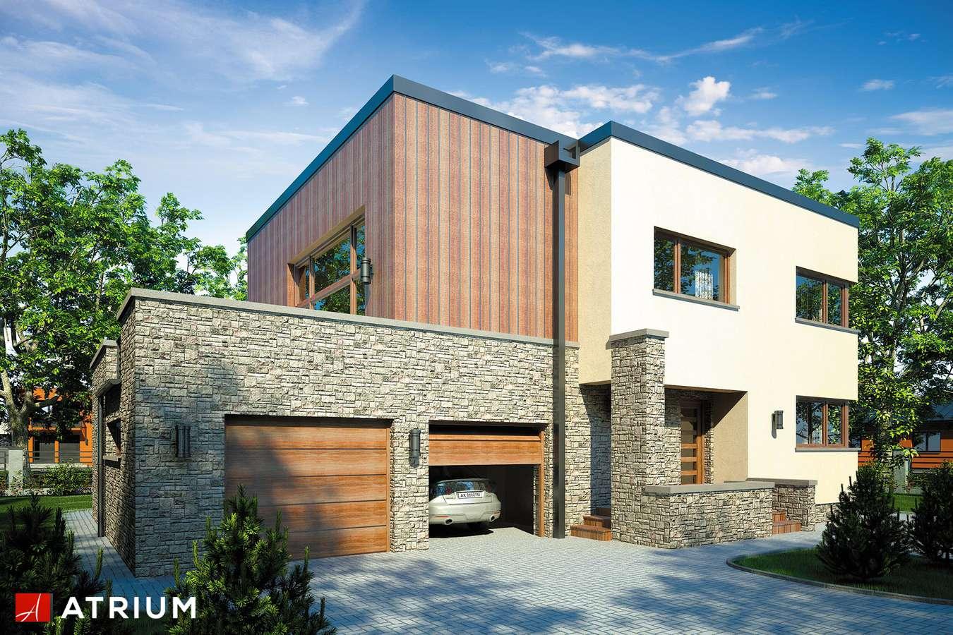 Projekty domów - Projekt domu piętrowego CYNAMON II - wizualizacja 1