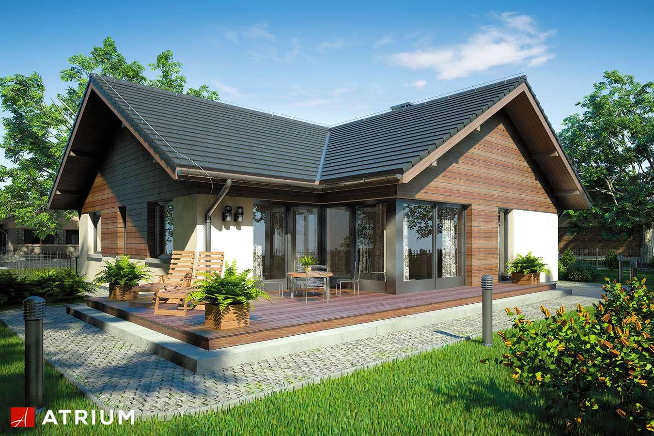 Projekt domu parterowego WINSTON - wizualizacja 2
