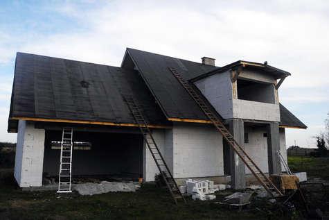 Projekt domu Navi Plus w budowie