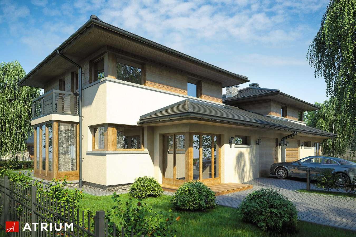 Projekty domów - Projekt domu piętrowego SIENA DUO - wizualizacja 1