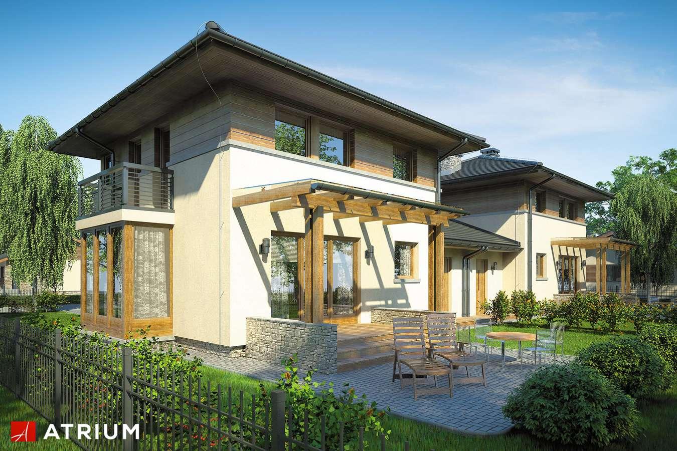 Projekty domów - Projekt domu piętrowego SIENA DUO - wizualizacja 2