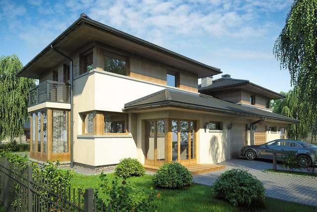 Projekt domu Siena Duo
