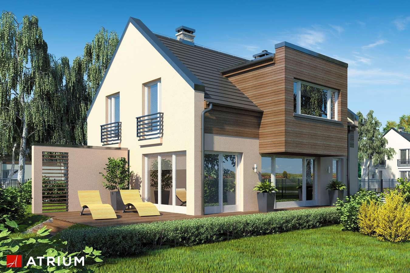 Projekty domów - Projekt domu z poddaszem WENA PLUS - wizualizacja 2