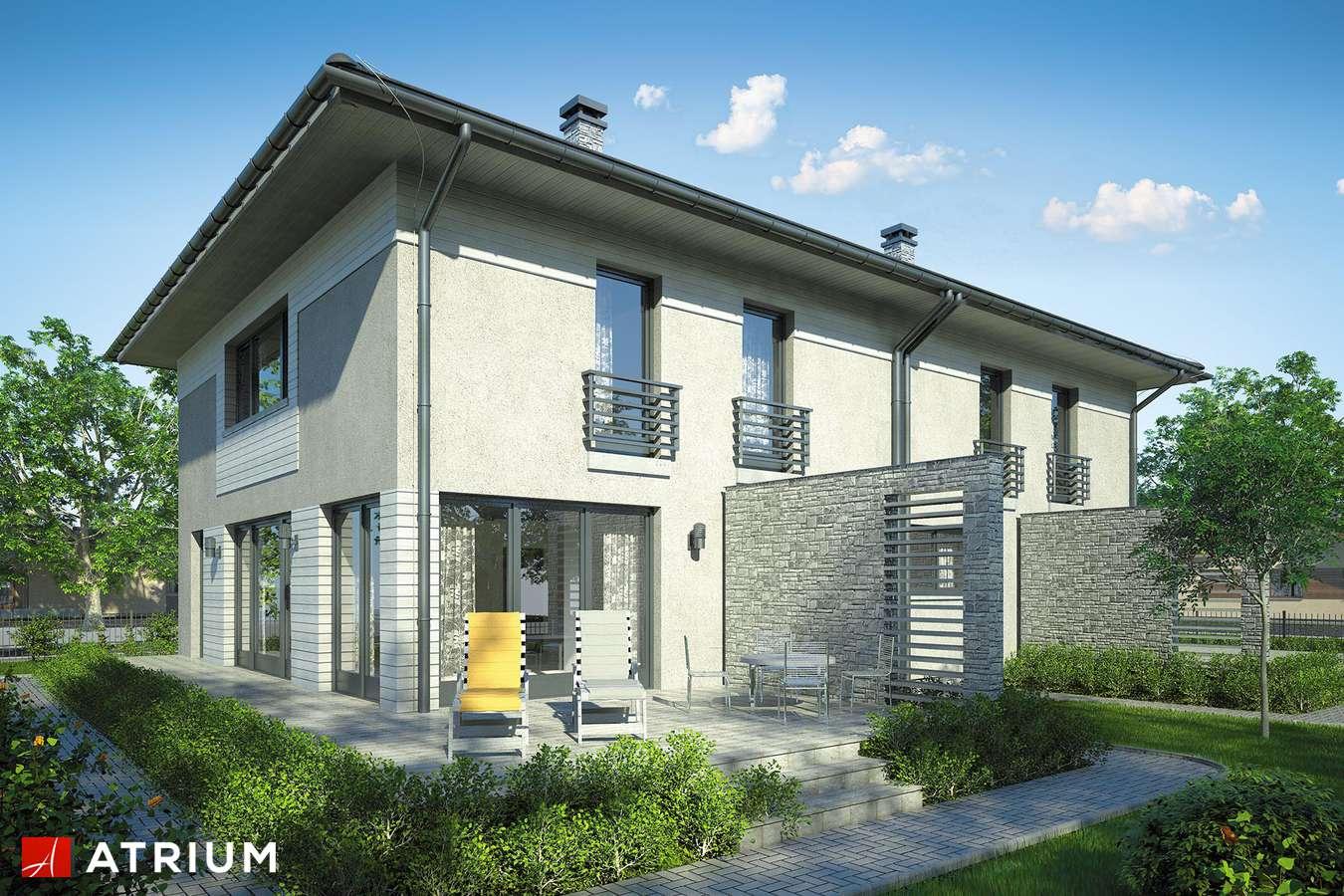 Projekty domów - Projekt domu piętrowego MILANO DUO - wizualizacja 2