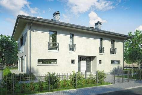 Projekt domu piętrowego MILANO DUO - wizualizacja 1