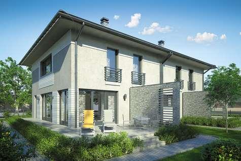 Projekt domu piętrowego MILANO DUO - wizualizacja 2