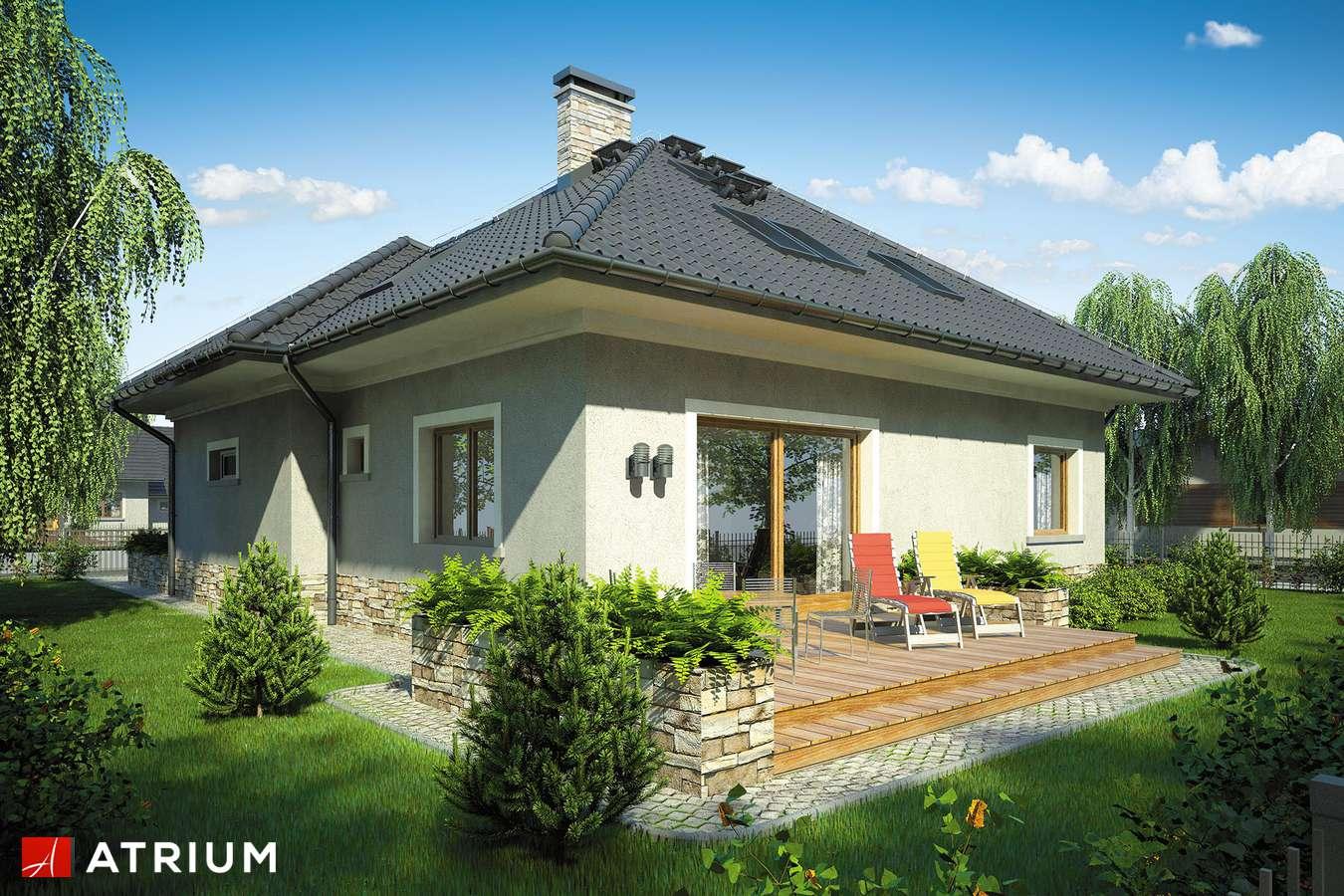 Projekty domów - Projekt domu z poddaszem FADO - wizualizacja 2