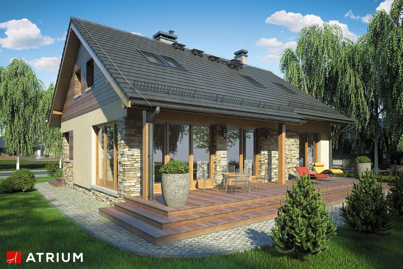 Projekty domów - Projekt domu z poddaszem RICARDO VI - wizualizacja 2