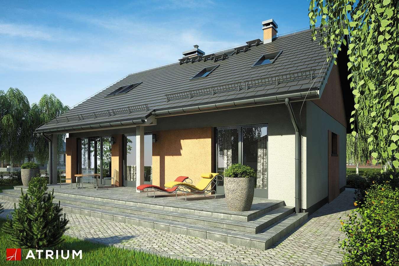 Projekty domów - Projekt domu z poddaszem RICARDO VII - wizualizacja 2
