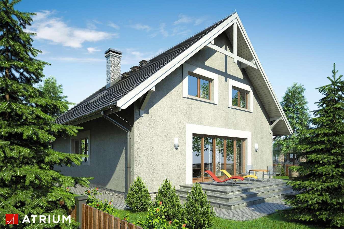 Projekty domów - Projekt domu z poddaszem KAMIL II - wizualizacja 2