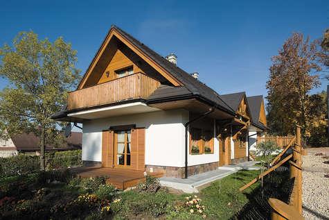 Projekt domu Koliba - realizacja