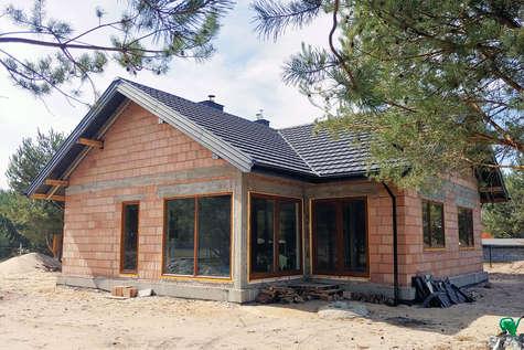 Projekt domu Amber III w budowie