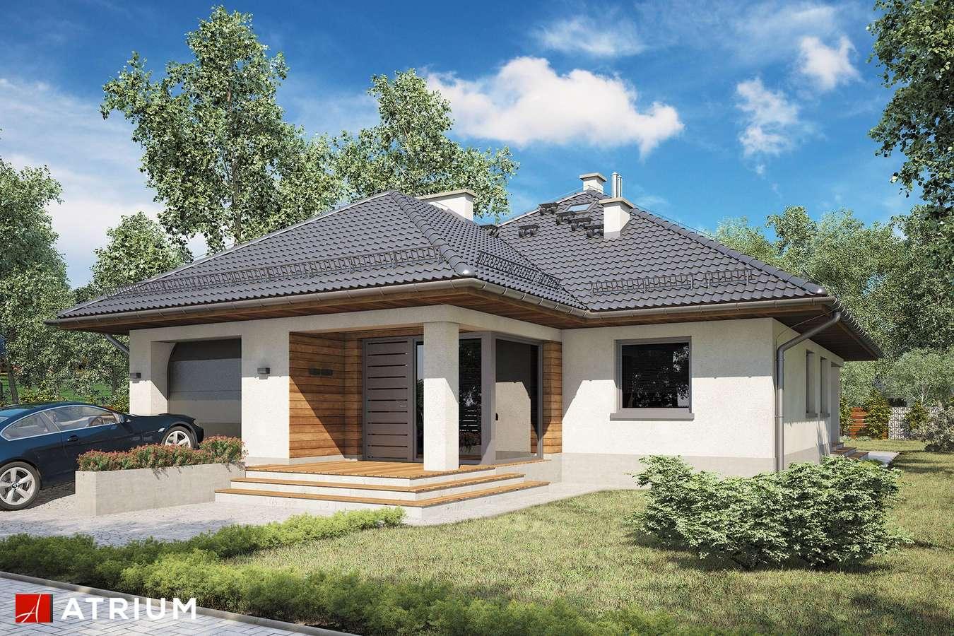 Projekty domów - Projekt domu z poddaszem MODELOWY II - wizualizacja 1