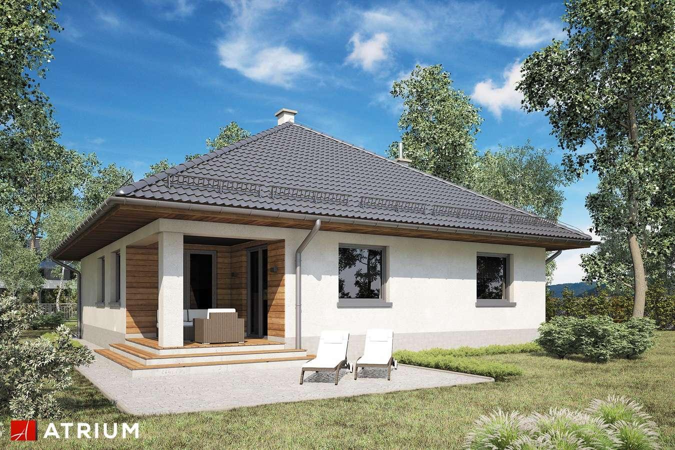 Projekty domów - Projekt domu z poddaszem MODELOWY II - wizualizacja 2
