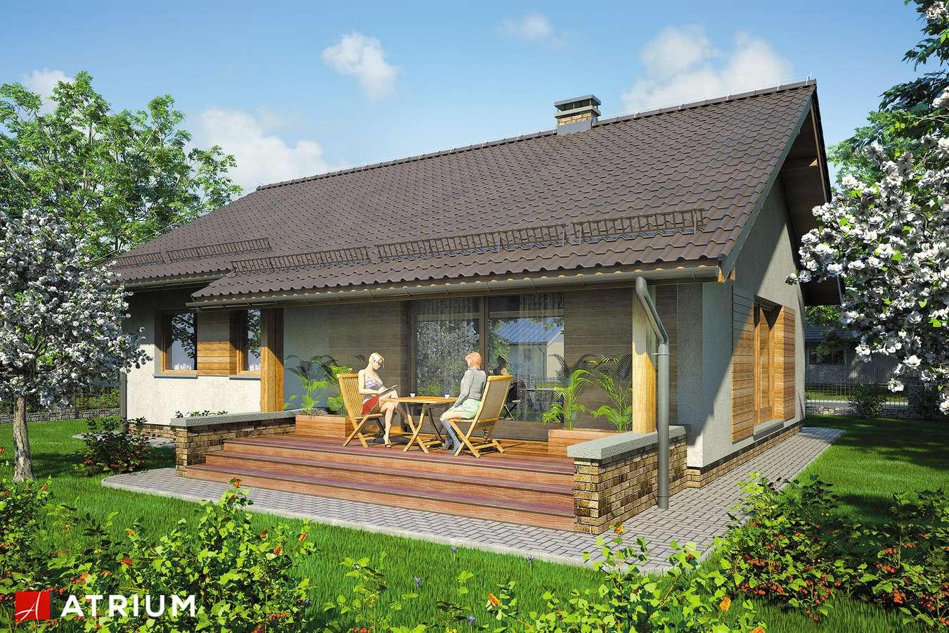Projekty domów - Projekt domu parterowego NEO VI - wizualizacja 2