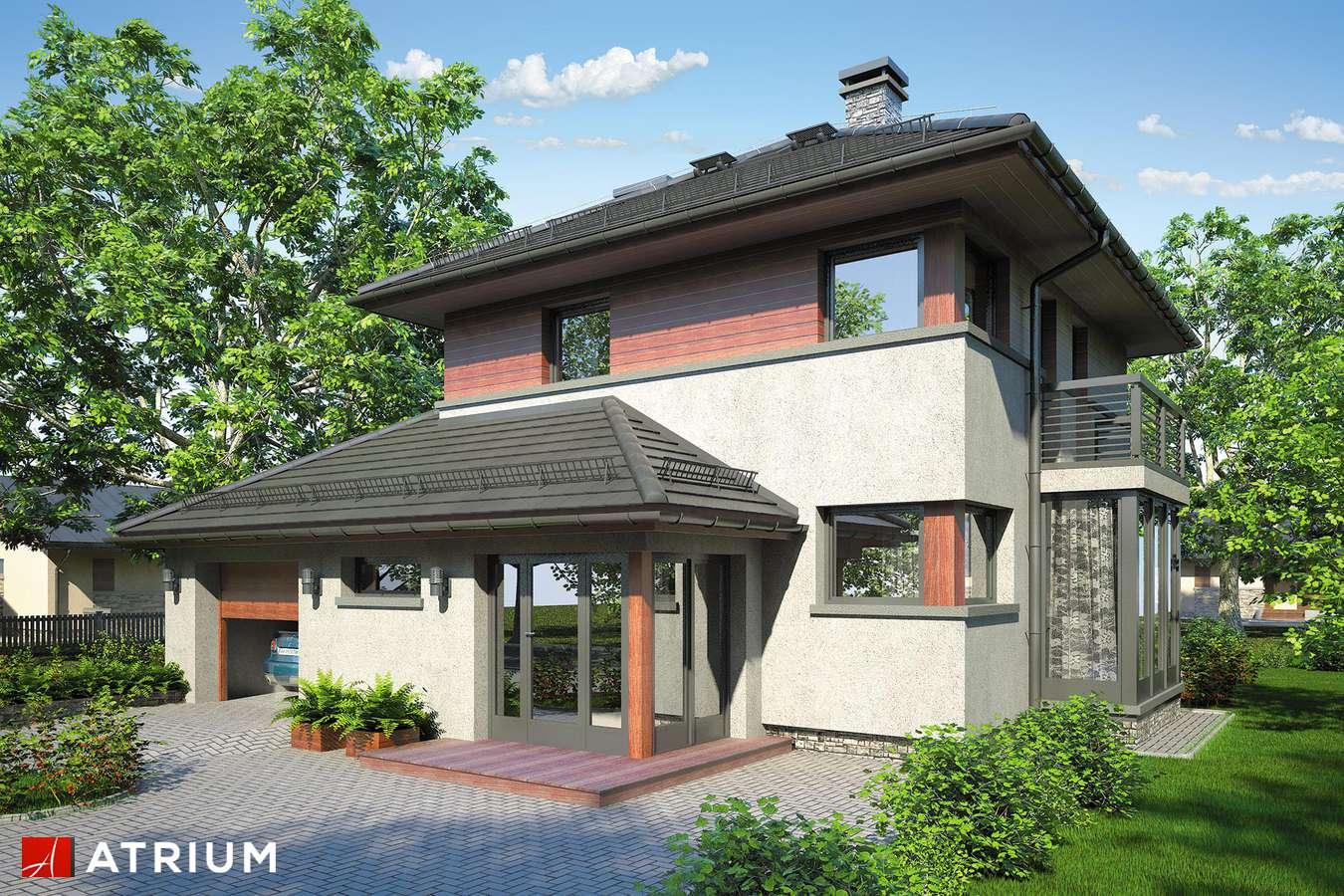 Projekty domów - Projekt domu piętrowego SIENA III - wizualizacja 1