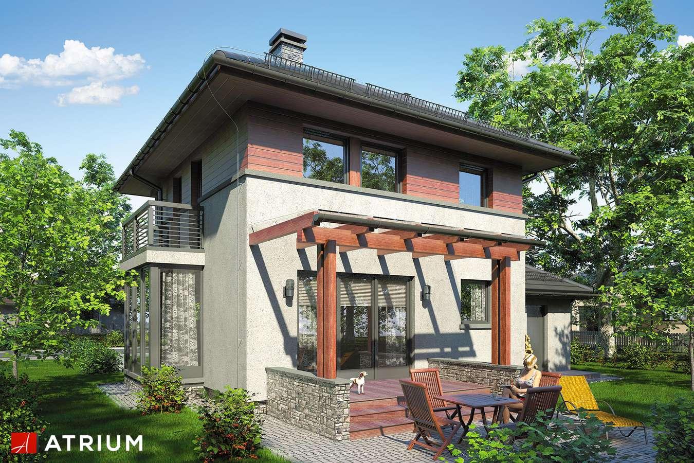 Projekty domów - Projekt domu piętrowego SIENA III - wizualizacja 2