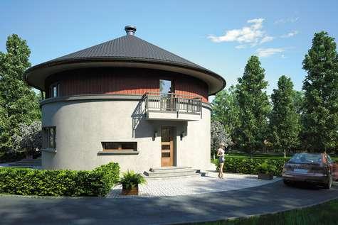 Projekt domu piętrowego CIRCULUS