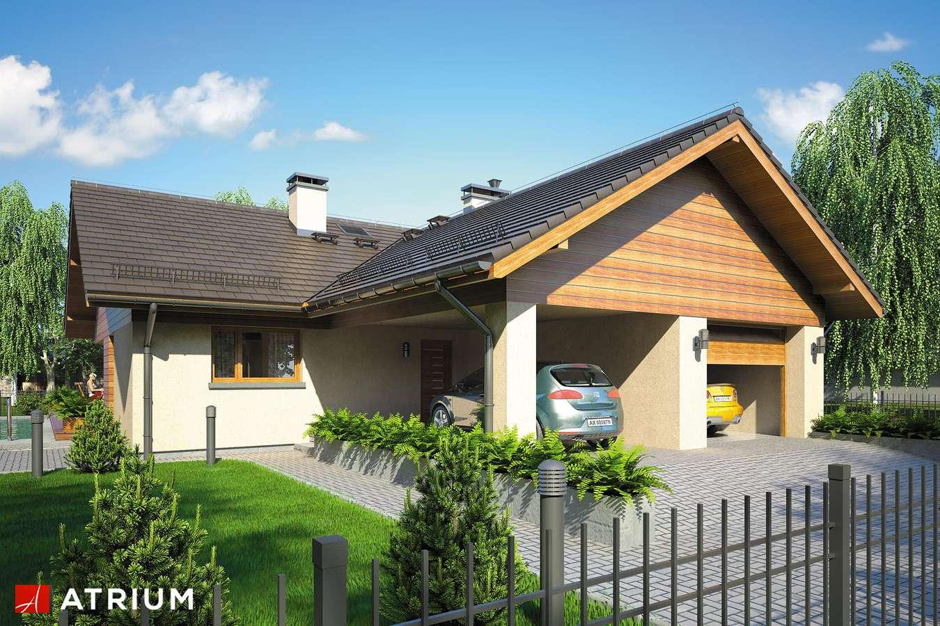 Projekty domów - Projekt domu parterowego WINSTON IV - wizualizacja 2