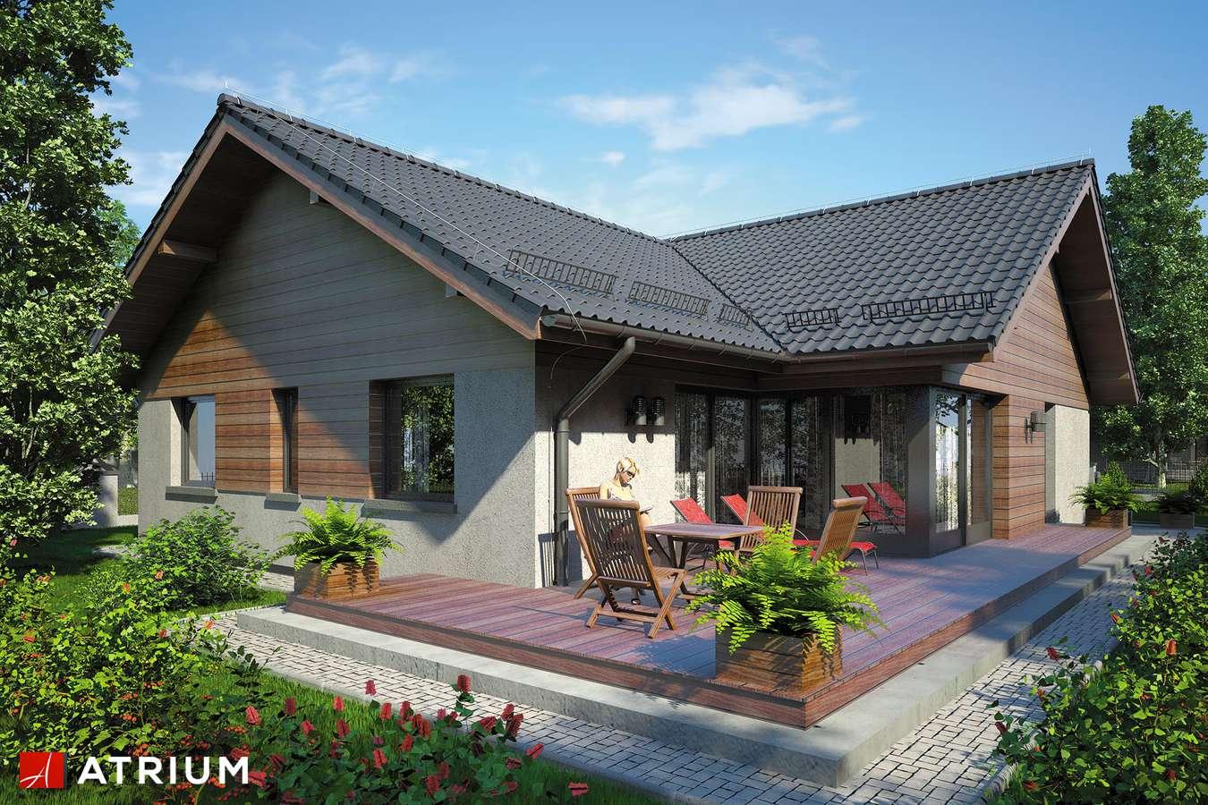 Projekt domu parterowego WINSTON VI - wizualizacja 2