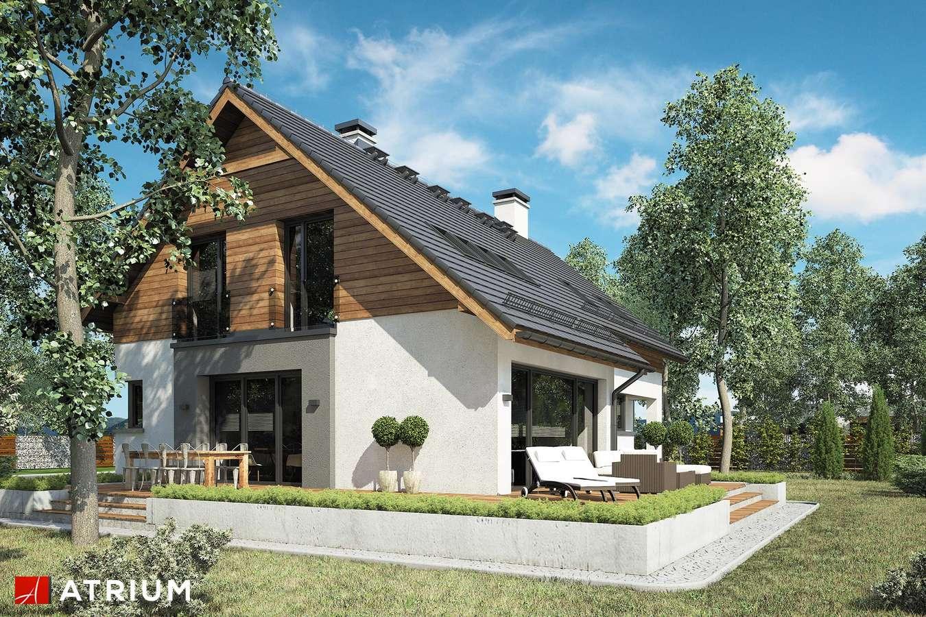 Projekty domów - Projekt domu z poddaszem WILSON - wizualizacja 2