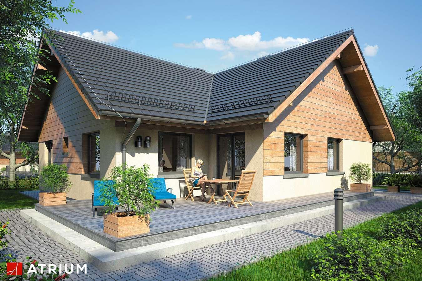 Projekty domów - Projekt domu z poddaszem OXFORD - wizualizacja 2