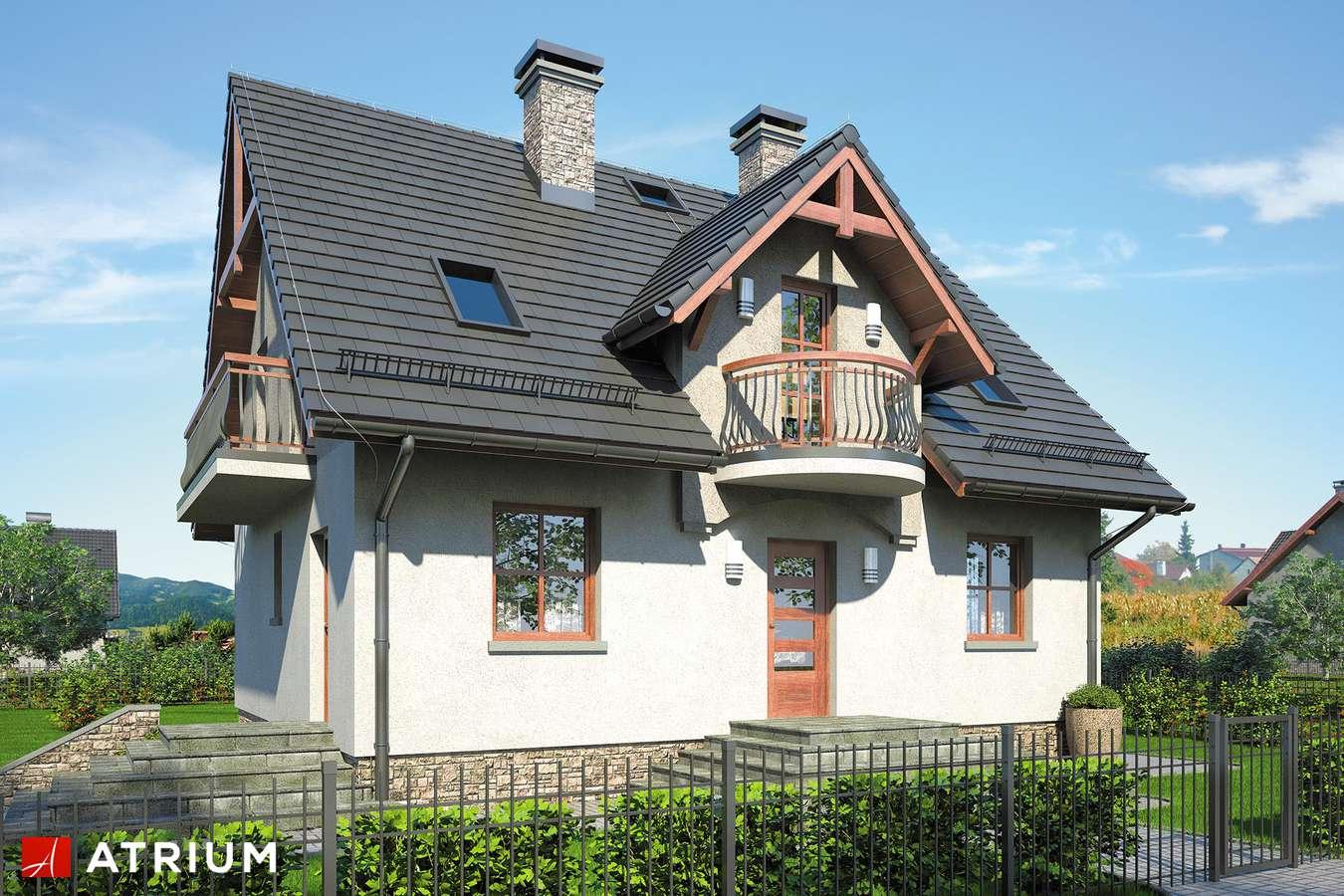 Projekty domów - Projekt domu z poddaszem ZOJA IV - wizualizacja 1