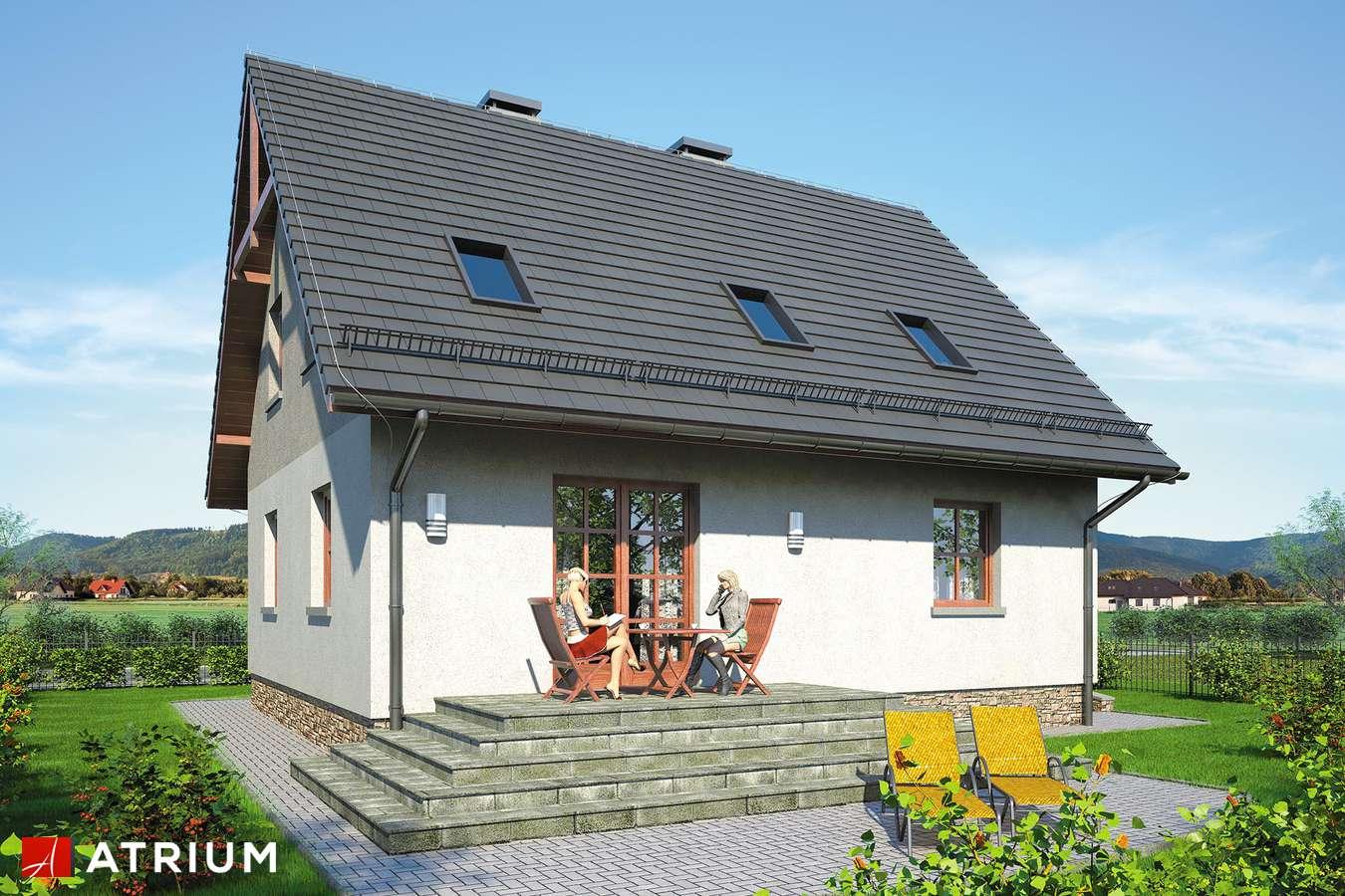 Projekty domów - Projekt domu z poddaszem ZOJA IV - wizualizacja 2