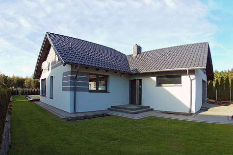 Projekt domu Winston IX - realizacja