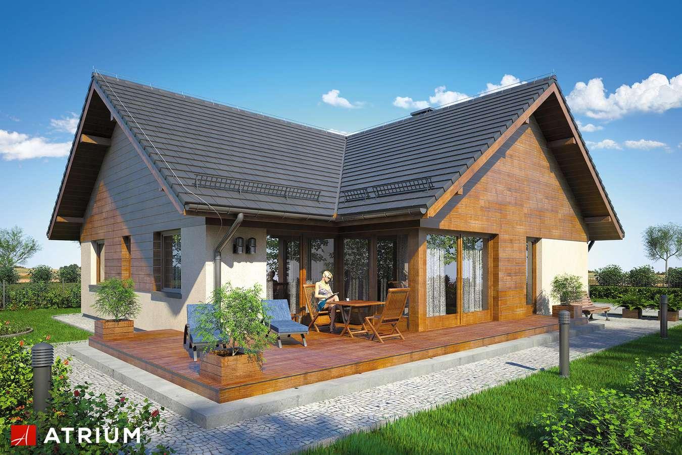 Projekty domów - Projekt domu parterowego WINSTON IX - wizualizacja 2