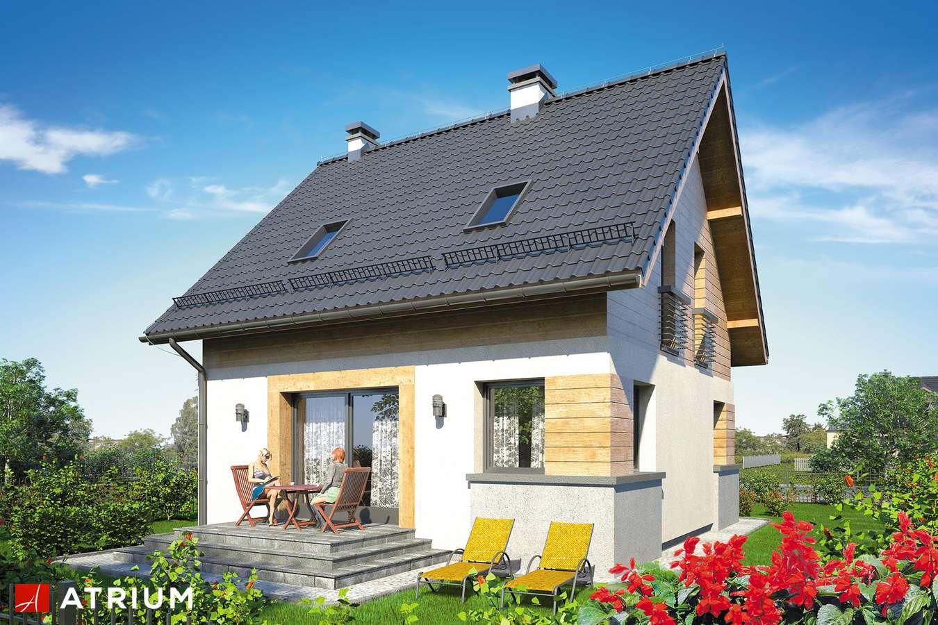 Projekty domów - Projekt domu z poddaszem ARGO II - wizualizacja 2