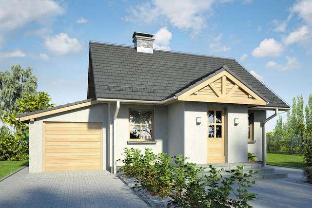Projekt domu Gniazdko II