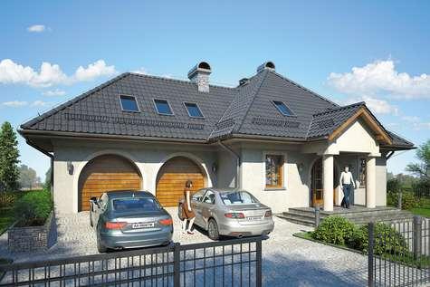 Projekt domu Podkomorzy II