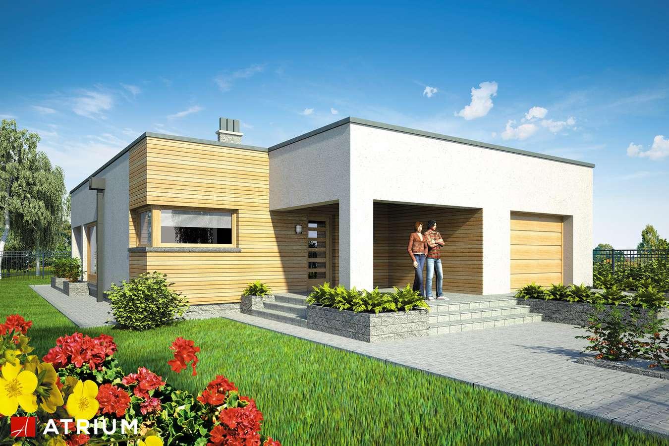Projekty domów - Projekt domu parterowego TOKYO II - wizualizacja 1