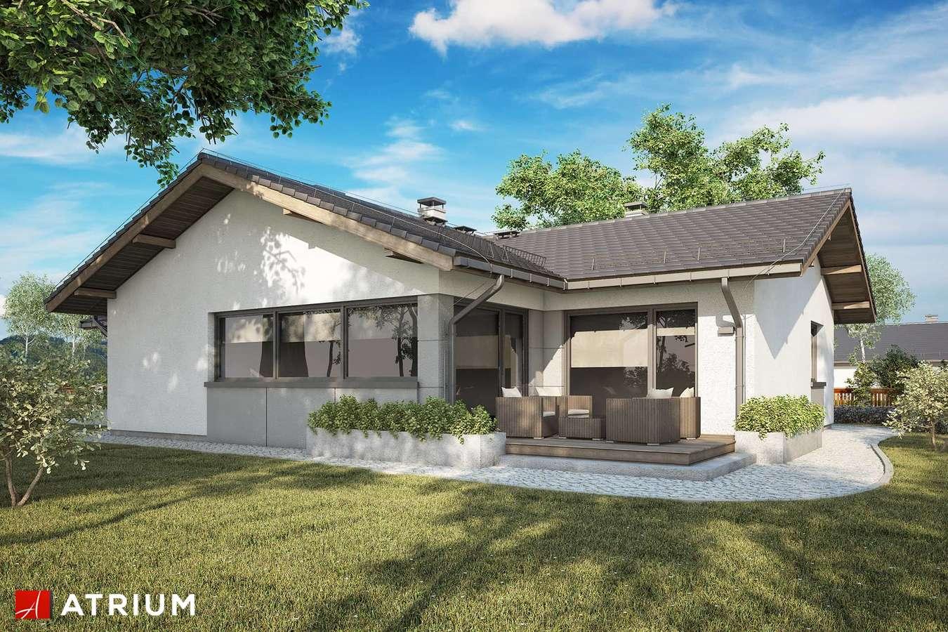 Projekty domów - Projekt domu parterowego OSTOJA VII - wizualizacja 2