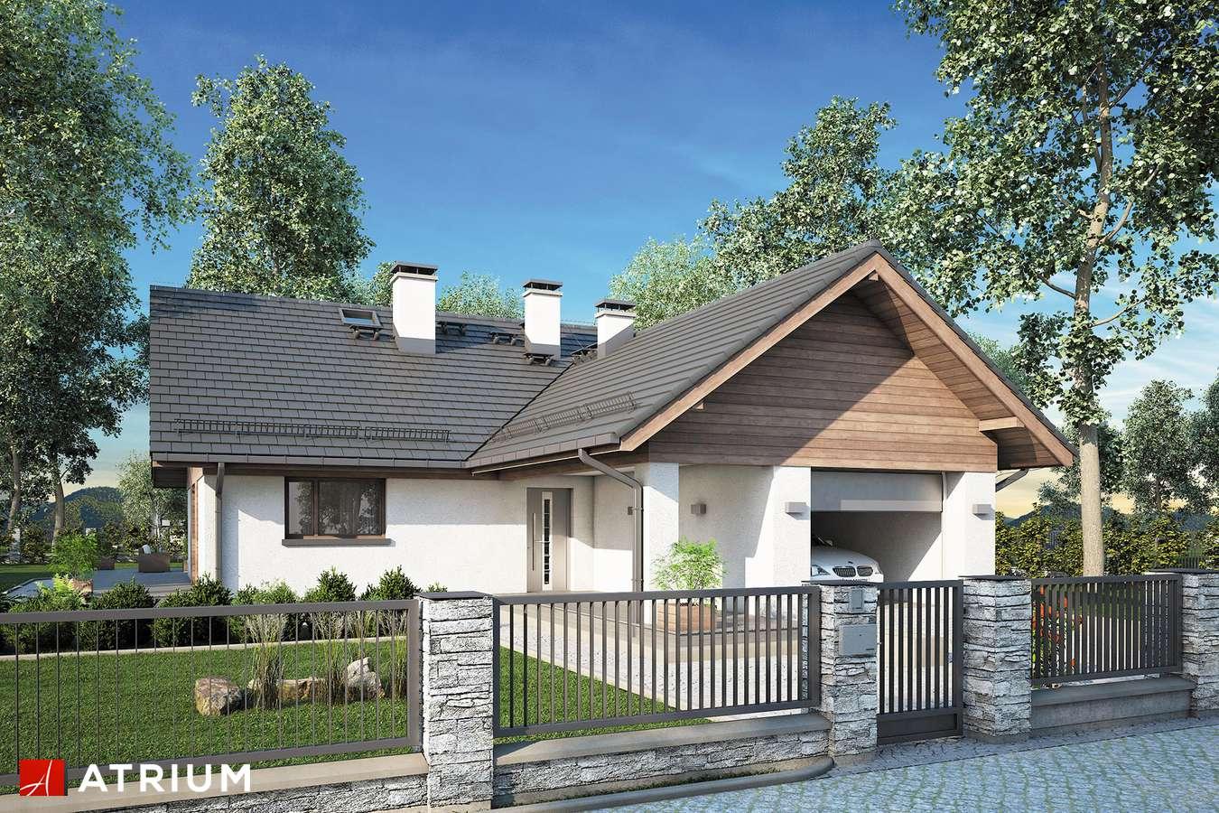 Projekty domów - Projekt domu z poddaszem OXFORD II - wizualizacja 1